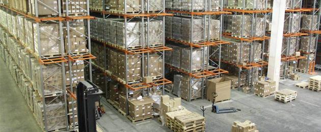 armazenagem de produtos